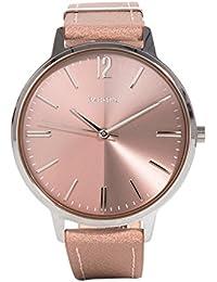 Parfois - Reloj Silver Tray - Mujeres - Tallas Única - Gris Pardo 71cd067df813