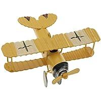 4a020029943 Homyl Modello Aeroplano Giocattolo Veicolo Biplano Militare Toys Bambini  Macchine - Giallo