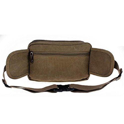 Sporttasche Reitpaket Schließen Kleine Schultasche Kuriertasche Tragbar Taschen Khaki