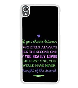 ifasho Designer Back Case Cover for HTC Desire 820 :: HTC Desire 820 Dual Sim :: HTC Desire 820S Dual Sim :: HTC Desire 820Q Dual Sim :: HTC Desire 820G+ Dual Sim (Banding Together Arts And Entertainment Channel)