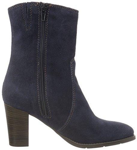 Tamaris 25385, Bottes Classiques Femme Bleu (Navy 805)