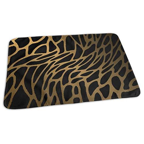 uflage Leopard Tiger Print Windel Wickelauflage Matten für Jungen Mädchen, 25.5