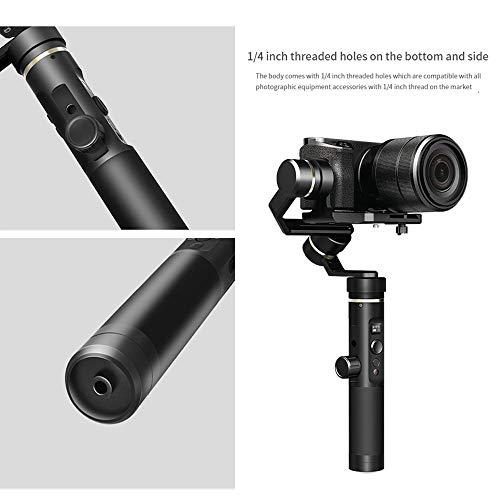 Erduo FeiyuTech G6 Plus 3-Achsen-Handheld Gimbal Stabilisator WiFi Bluetooth für GoPro Hero/Sony RX100 / Canon M10 Kamera Smartphones