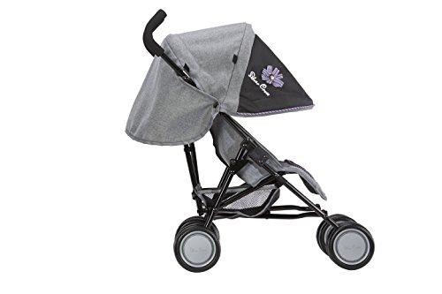 Silver Cross Pop Dolls Pushchair / Stroller. Age 3-4 years. Handle 61cm - Eton Grey Fabric