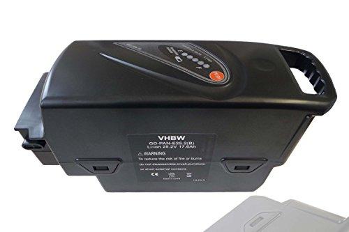 vhbw Akku passend für Flyer T8, T9, T10, T8 HS, T10 HS, T11 HS, T14 HS E-Bike Elektrofahrräder (Li-Ion, 17.6Ah, 26V) T9-power-pack