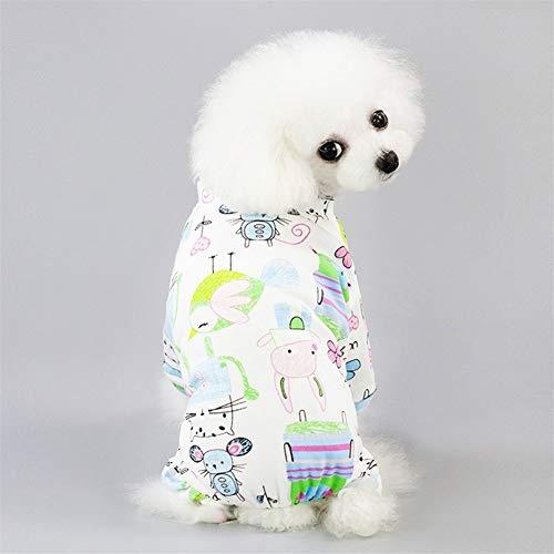 Haucalarm Haustierkleidung for den Hundedruck Nettes Kostüm (Color : Mouse, Größe : L)
