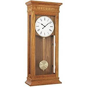 wall clock dual westminster whittington 4x4 chime by london clock