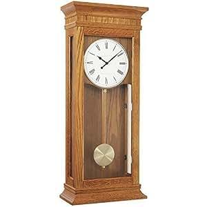 wall clock dual westminster whittington 4x4 chime by london clock