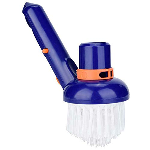 36cc0872b810 Alaojie Swimming Pool Corner Vacuum Brush Best for Above Ground Inground  Swimming Pools Spas Hot Tubs Fine Nylon Bristles