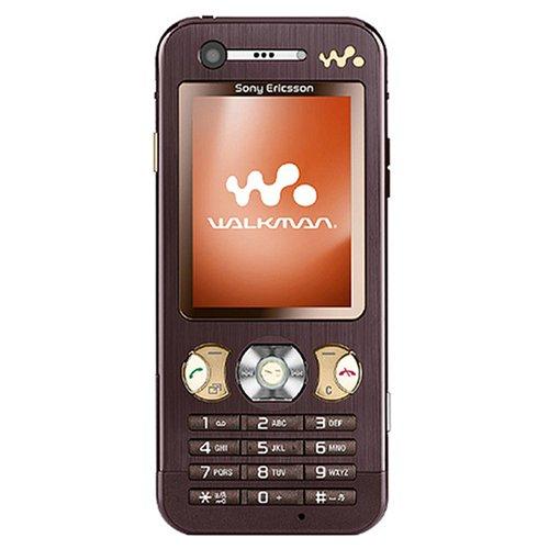 Sony Ericsson W890i UMTS Handy (Quadband, EDGE, MP3-Player, Bluetooth, MemoryStick Micro-Slot) Mocha Brown ohne Branding (Sony Walkman Amp)