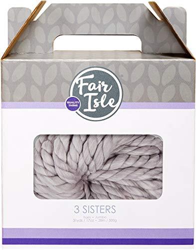 Fair Isle 101912-4017 Garn 3 Schwestern Granit Heather -