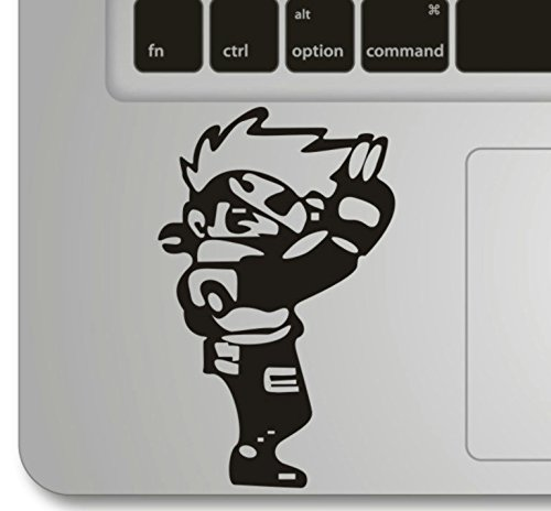 Vati Blätter Removable NARUTO Humor Teilhandmade Art Haut kühler Entwurf Vinylabziehbild Aufkleber für Trackpad Tastatur des Apple Macbook Pro Air Mac Laptop - Naruto-mac Decal