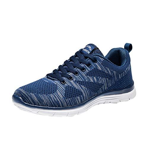 Fascino-M Sportschuhe Laufschuhe Fitness Leicht rutschfeste Turnschuhe für Herren Damen Sportschuhe Sneaker