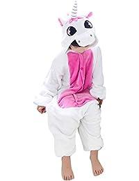 Happy Cherry - Unisexe Enfant Pyjamas Grenouillère Cosplay costume Onesie Animal en Flanelle Fille Garçon - 3-11ans - Couleurs et Tailles au choix