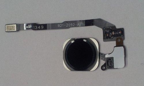 Sintech.DE Limited Home Button passend für iPhone SE/5S mit Fingerprint-Sensor, schwarz (I 5s Phone Home-button)
