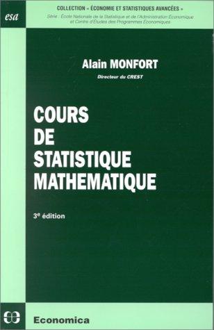 Cours de statistique mathématique