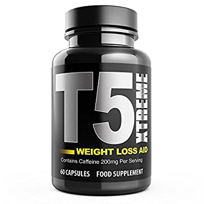 T5 Xtreme Thermogenic Fat Burner Supplement Supports Weight Loss UK Made from Natural Answers