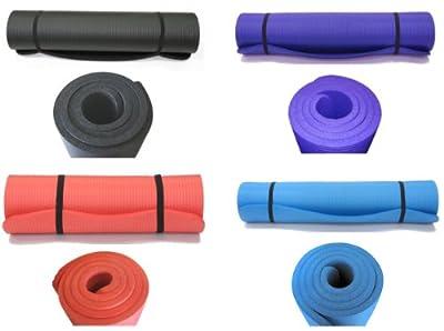Yogamatte Gymnastikmatte Pilates Länge 190 cm Stärke 1,5 cm Breitenauswahl: 100cm oder 60cm, Farbauswahl