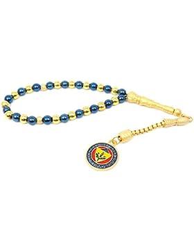 Gebetskette - Tesbih Fenerbahce FB für Fußballfans Blau Gold Farbe