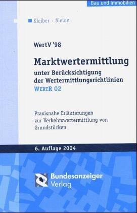 Wertermittlungsverordnung 1988. WertV '88