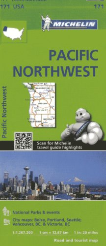 Pacific Northwest : 1/1 267 000 par Michelin