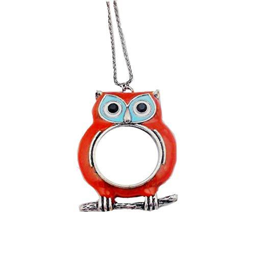 Lupe houlian shop 10x HD Optische Linse Tragbare Halskette Taschenlupe