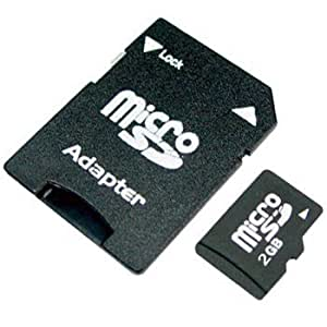2GB Micro SD Memory Card for BlackBerry Curve 3G 9300