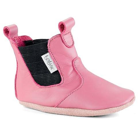 Bobux 460687, Unisex Baby Lauflernschuhe, Pink (pink), M EU (3.5 Baby UK)