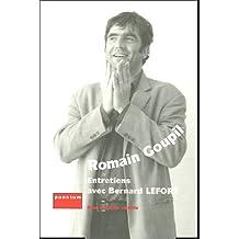 Romain Goupil : Entretiens avec Bernard Lefort