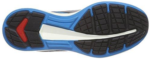 Puma Ignite V2 Jr, Chaussures de course mixte enfant Bleu - Blau (atomic blue-black-aged silver 01)