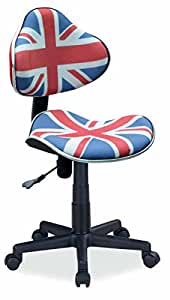 Merino Wool Pratique et confortable Chaise dactylo,Fauteuil de bureau