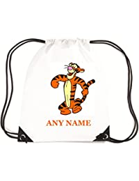 Tigger Style School/PE/Swim Bag Personalised *choice of name colour* By Mayzie Designs®
