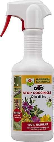 insetticida stop cocciniglie olio di lino cifo 200ml 100% naturale biologico amdgarden