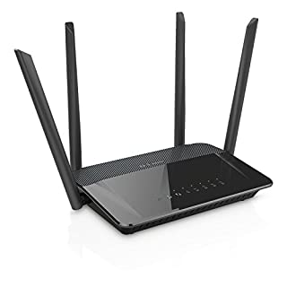 D-Link DIR-842 Router Wireless, Tecnologia AC1200, Doppia Banda, 4 Porte Gigabit + WAN, 4 Antenne Esterne, Nero/Antracite (B00PVDTRL4) | Amazon price tracker / tracking, Amazon price history charts, Amazon price watches, Amazon price drop alerts