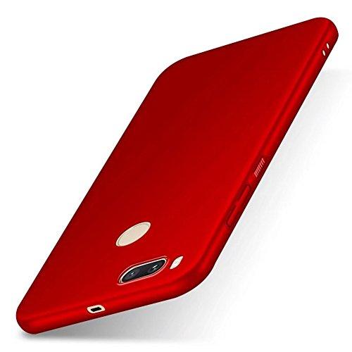"""XMT Xiaomi Mi 5X,Xiaomi Mi A1 5.5"""" Funda,Calidad Premium Cubierta Delgado Caso de PC Hard Gel Funda Protective Case Cover para Xiaomi Mi 5X,Xiaomi Mi A1 Smartphone (Rojo)"""