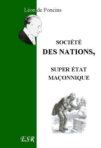 Société Des Nations, Super État Maço...
