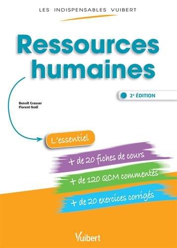 Ressources Humaines - Fiches de cours - QCM Commentés - Exercices corrigés