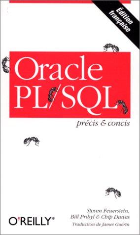 Précis & Concis : Oracle PL/SQL