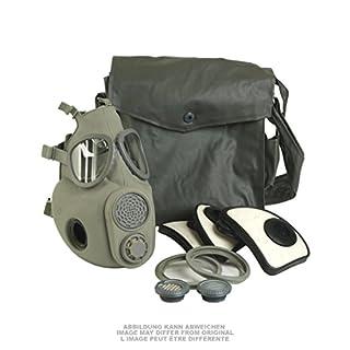Armeeware Atemschutzmaske M10M mit Filter mit Tasche neuwertig Gasmaske ABC-Ausrüstung