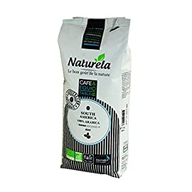 Premium Organic Coffee Beans Naturela S.America, 100% Arabica, Fair trade (1kg.)