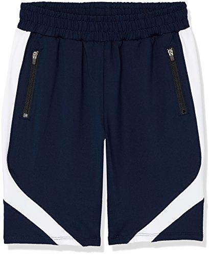Jungen Sportbekleidung (RED WAGON Jungen Sportshorts mit Colour Block-Design, Blau (Navy/White), 134 (Herstellergröße: 9 Jahre))