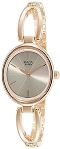 Titan Raga Viva Analog Rose Gold Dial Women's Watch-2579WM01