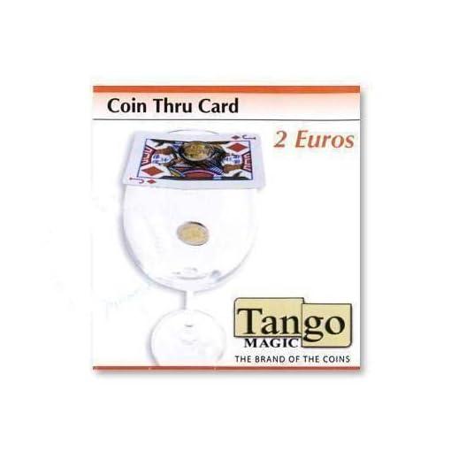 Coin-thru-card-2-Euro-by-Tango-Magic-Magie-mit-Tuch-Zaubertricks-und-Magie SOLOMAGIA Coin Thru Card – 2 Euro by Tango Magic – Magie mit Tuch – Zaubertricks und Magie -