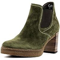 GABOR comfort - Damen Stiefeletten - Schwarz Schuhe in Übergrößen