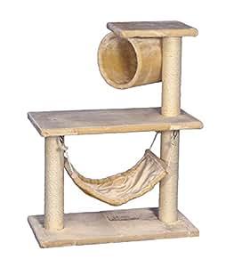 nobby 72023 02 kratzbaum f r katzen jade klein beige garten. Black Bedroom Furniture Sets. Home Design Ideas