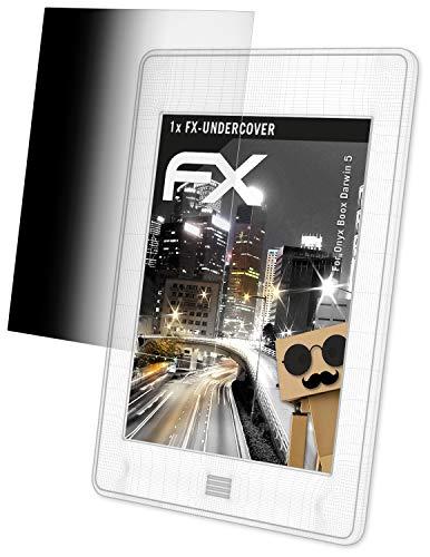 atFolix Blickschutzfilter für Onyx Boox Darwin 5 Blickschutzfolie, 4-Wege Sichtschutz FX Schutzfolie