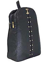 Typify Studded Casual Purse Fashion School Leather Backpack Shoulder Bag Mini Backpack for Women & Girls, Gift for Her
