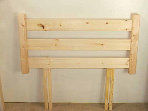 96e7caf23a67 Single Pine headboard - 3ft Natural Solid Pine headboard - 3ft Single Head  Board Strictlybedsandbunks