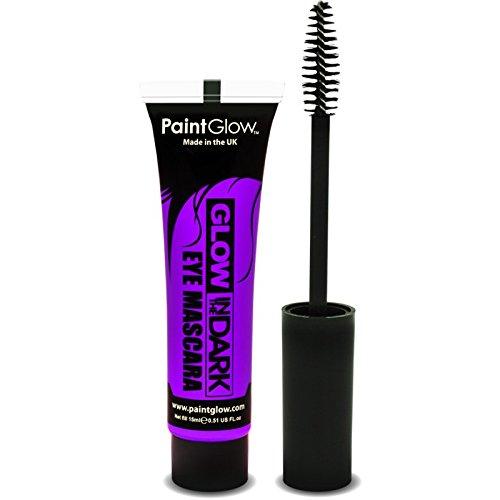 Preisvergleich Produktbild PaintGlow Neon Glow in the Dark Eye Mascara Violet 15ml
