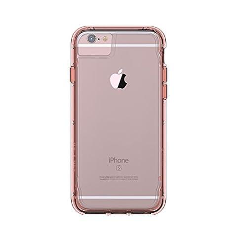 Griffin Survivor Clear Coque pour iPhone 6/6s/7 - Rose